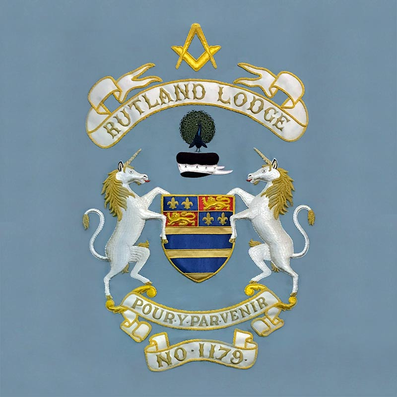 Rutland Lodge Banner